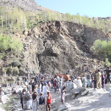 7 people buried by landslide in Phuguch village of Darel Valley
