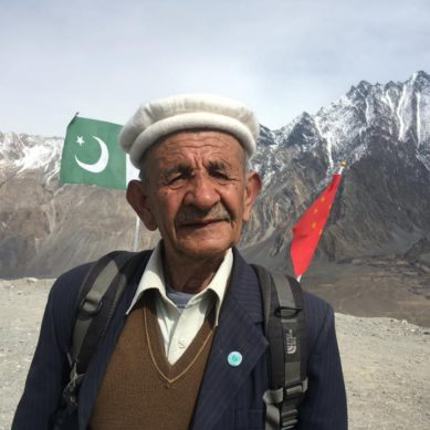 Hunza: 78-year-old Ali Rehbar walks 100 kms to thank Chinese Red Army doctors who helped him 40 years back
