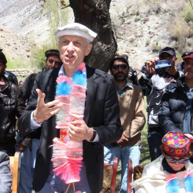 Swiss envoy inaugurates 800 KW hydro power project in Yarkhun valley.