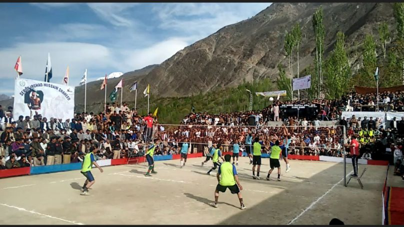Gilgit-Baltistan Volleyball League underway in Nagar District