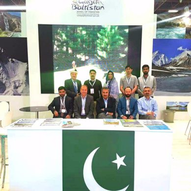 Officials and Tour Operators from Gilgit-Baltistan attend Hestourex Congress and Exhibition in Turkey