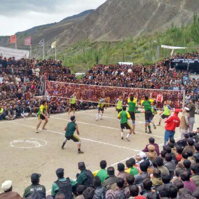 Hunza defeats Nagar in final match of Gilgit-Baltistan Volleyball League