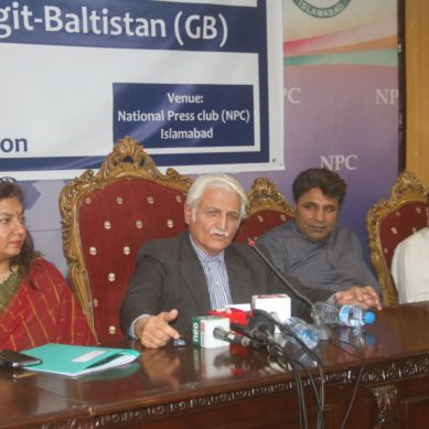 """Volcano of resentment in Gilgit-Baltistan can erupt anytime soon"", Senator Farhatullah Babar"