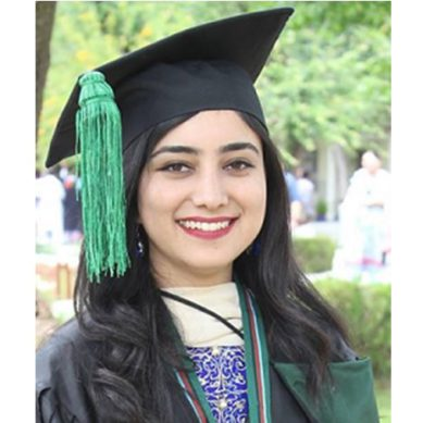 Injleen Hussain from Gilgit-Baltistan shines at COMSATS