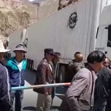 Gojal: Chinese Drivers Stuck in Sost Protest