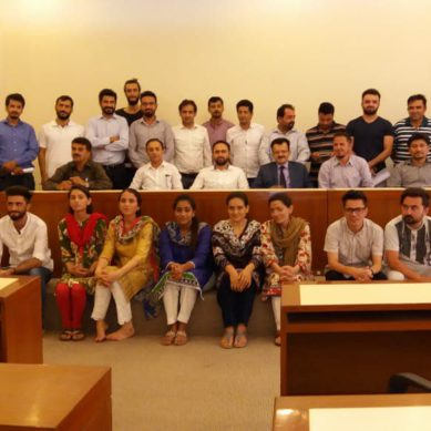 New cabinet of Gojal Ismailia Students Association Karachi (GISAK) sworn in