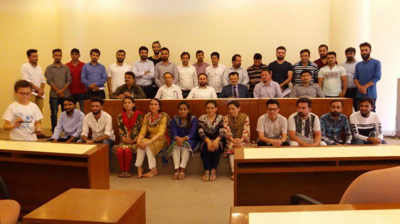 New cabinet of Gojal Ismailia Students Association Karachi (GISAK) sworn in