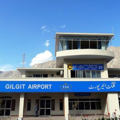Gilgit Airport shut down after Air Traffic Controller is arrested by district administration