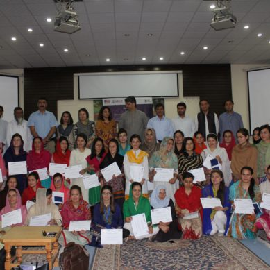 Women Entrepreneurship Skills Development Workshop held at KIU, Gilgit
