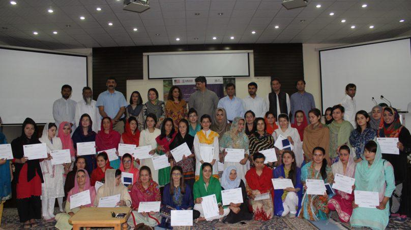 Women Entrepreneurship Skills Development Workshop held at KIU, Gilgit