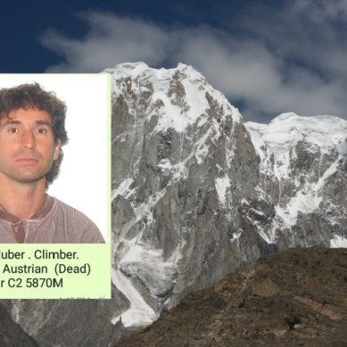 Austrian mountaineer dead on Ultar Sar Peak in Hunza, two Brits injured