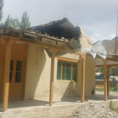 Phandar Rest House in shambles