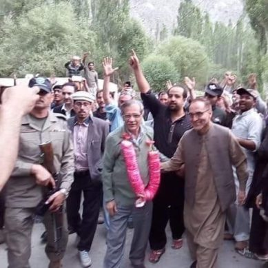 Chief Justice gets rousing welcome in Skardu