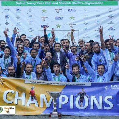 Al-Noor FC has won the 6th season of Gulmit Premier League