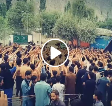 Skardu: Thousands pay glowing tribute to the martyrs of Karbala