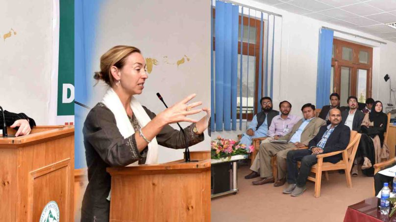 US Delegation visits University of Baltistan, Skardu