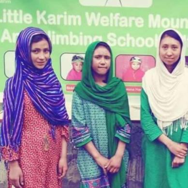 """Granddaughters of renowned mountaineer """"Little Karim"""" summit 6050 m high peak in Shimshal"""