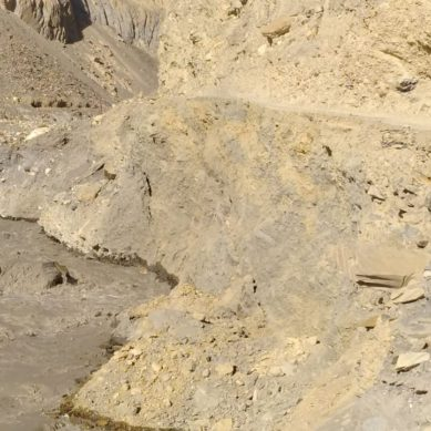 DC Hunza expects coolies to fix eroded Shimshal Road