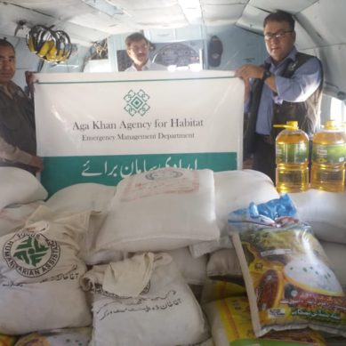 AKAH and Pak Army join hands to deliver 5.6 tons of relief items to Badswat