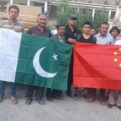 China sends equipment for 06 IT centers in Gilgit-Baltistan