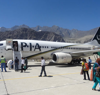 PIA and its Skardu Route