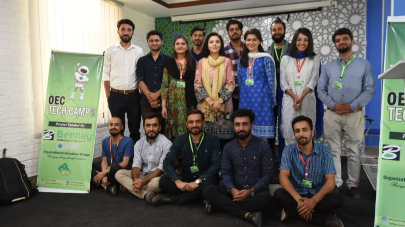 OEC organizes TECH CAMP 2018 in Gilgit