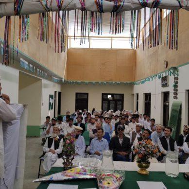 Brilliance School Kosht gets new principal