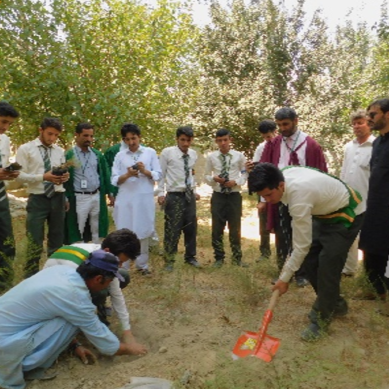 AKHSS Chitral participates in countrywide Plantation Drive