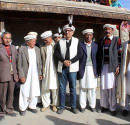 President Alvi showers praises on the Aga Khan and the Hunza Community